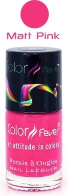 Color Fever Pink Matte Nail Polish 116 9 ml