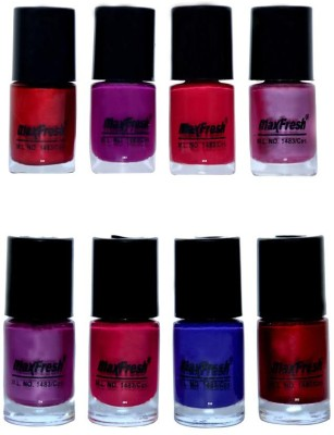 Max Fresh Matt Nail Polish Combo 126 48 ml