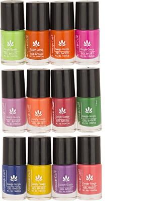 Aroma Care Mab Multi Color Nail polish Combo 01-02-03 60 ml(Multicolor,)