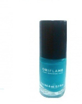 ORIFLAME SWEDEN Pure Colour Nail Polish Mini 6 ml(Marine Blue)