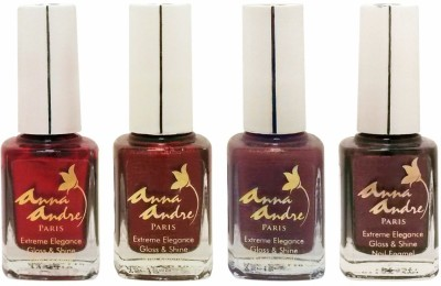 Anna Andre Paris Colorburst 1625 - Set of 4 Nail Polishes 9 ml