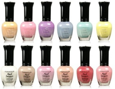Kleancolor Collection Beautiful Assorted Pastel Set 15 ml