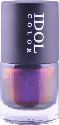 Idol Color Imported COLOR CHANGING Nail Polish Shade Shifts from Purple to vivid pink, copper, metallic burgundy,gold, and a stunningly vibrant green ID - 207 10 ml