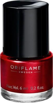 Oriflame Sweden Pure Colour Nail Polish Mini Classic Red 6 ml