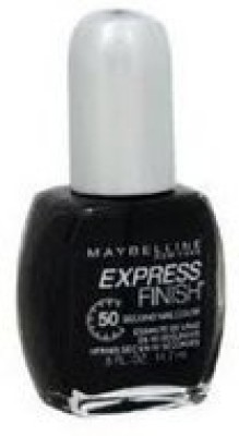 Maybeline New York Express Finish Nail 640 Classic Black 15 ml