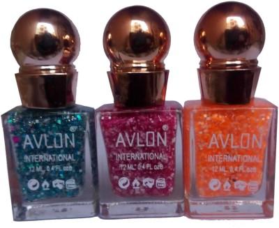 Avlon Glitter Nail Polish A.G.N.P-C3 12 ml