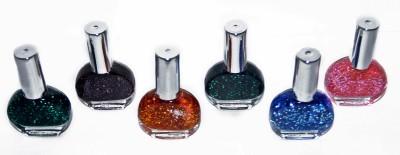 BlueFashio Joolie Stylish Set of 16 Disco Nail Polish 12 ml