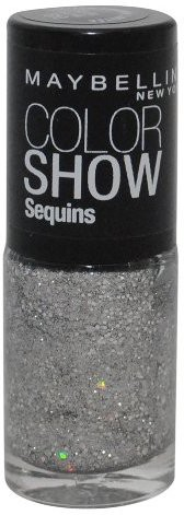 Maybelline The Color Show Limited Edition Silver Gleam COLOR SHOW Silver(15 ml)