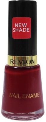 Revlon Nail Enamel Raven Red 8 ml(Red)