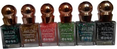 Avlon Glitter Nail Polish A.G.N.P-I6 12 ml