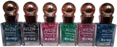 Avlon Glitter Nail Polish A.G.N.P-D6 12 ml