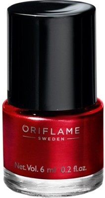 Oriflame Sweden pure colour nail paint classic red(6 ml)