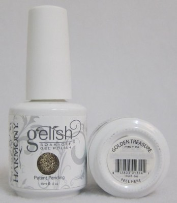 Gelish Harmony Uv Soak Off Golden Treasure ) HMYG0070 15 ml