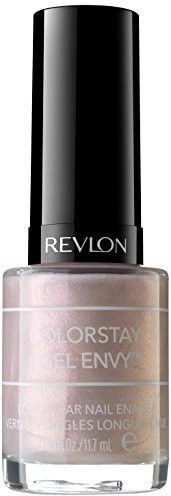 Revlon Colorstay Gel Envy Longwear Nail Enamel Beginners Luck () ColorStay Gel Envy Dark(12 ml)