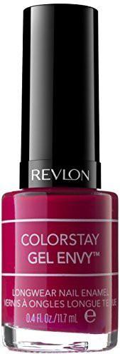 Revlon Colorstay Gel Envy Longwear Nail Enamel Roulette Rush ) 7210581026 Dark(12 ml)