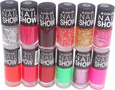 V-Color Nail Show 72 ml(Multicolor Set 11)