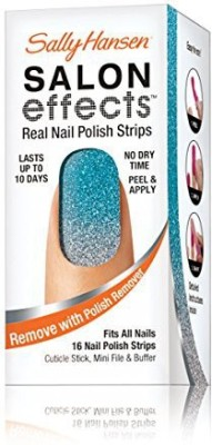 Sally Hansen Salon Effects Real Nail Polish Strips, Crowd Surfer, 16 Count 15 ml