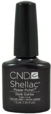 CND Nail Products Cnd Shellac Power Polish Forbidden Collection Dark Dahlia 7.5 ml