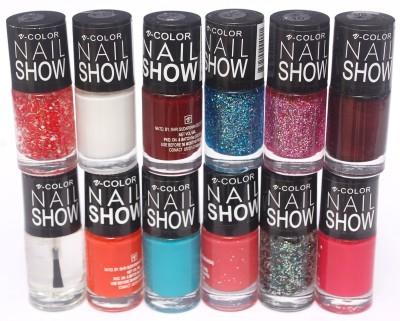 V-Color Nail Show 72 ml(Multicolor Set 1)