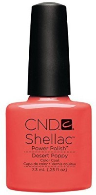 CND Nail Products Cnd Shellac Power Polish Open Road Collection Desert Poppy CND002 7.3 ml