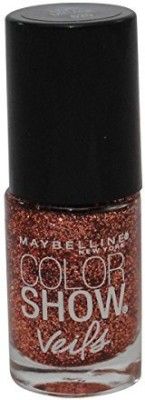 Maybeline New York Color Show Veils Nail Lacquer Top Coat, Rose Mirage 15 ml
