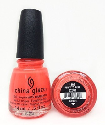 China Glaze Electric Nights Lacquer Redy To Rave 82603 15 ml