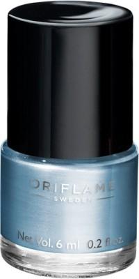 Oriflame Sweden Pure Colour Nail Polish Mini Marine Blue 6 ml(Marine Blue)