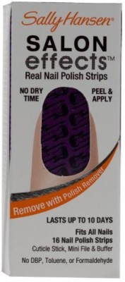 Sally Hansen Salon Effects - Amp It Up / Rock of Ages - Nail Polish Strips 15 ml