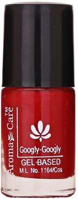Aroma Care 60 Seconds Super Dry Red Color Nail Polish, 6 ml 6 ml(Red,)