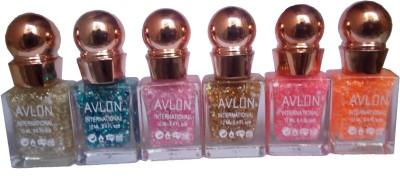 Avlon Glitter Nail Polish A.G.N.P-M6 12 ml