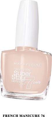 Maybelline super stay gel nail color 10 ml(French manicure, 76)