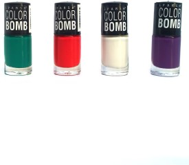 Color Bomb Nail Color C set of 4 shades 6 ml