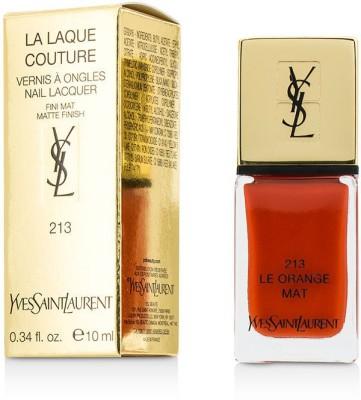 Yves Saint Laurent La Laque Couture Nail Lacquer The Mats 10 ml(213 Le Orange Mat)