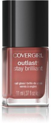 Covergirl Outlast Stay Brilliant Nail Gloss Coral Silk CGUES0764NB 11.1 ml