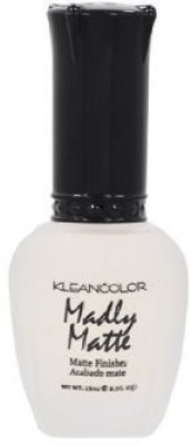 Kleancolor Lacquer Madly Matte Top Coat Clean Manicure Fast Dry 15 ml