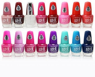L.A. Colors Extreme Shine Gel No Uv Needed Intense Color Fuss Free 15 ml