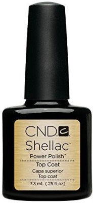 CND Cosmetics Cnd Shellac Color Coat With Uv Technology Top Coat CNDS0001 7.3 ml