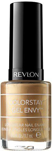 Revlon Colorstay Gel Envy Longwear Nail Enamel Jackpot ) Dark(12 ml)