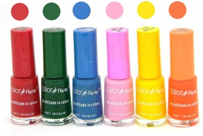 Color Fever Nail Polish Combo 2-4-26-8-16-32 N 30 ml