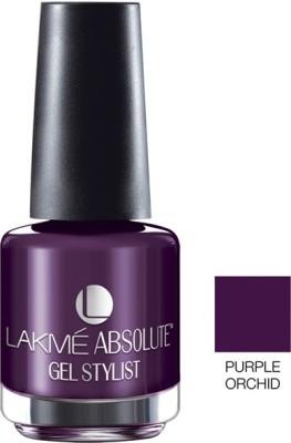 Lakme Absolute Gel Stylist 15 ml(Purple Orchid)