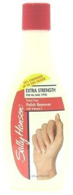Sally Hansen Polish Remover Extra-Strength (3-Pack) with Free Nail File 15 ml