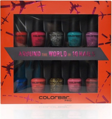 Colorbar Around the World in 10 Nails 50 g