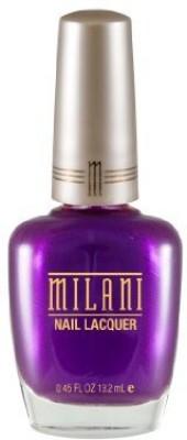 Milani Nail Lacquer, Wild Violet 102, 15 ml