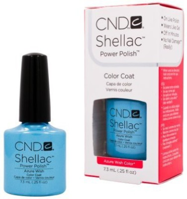 CND Cosmetics Cnd Shellac Spring Sweet Dreams Collection Azure Wish Gel Uv 7.3 ml