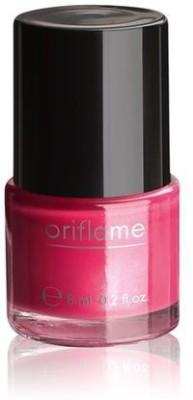 Oriflame Sweden Pure Colour Nail Polish Mini Intense Pink 6 ml