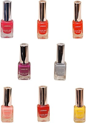 Lorenza Combo Set-29 Nail Lacquer (Pack Of 8) 15 ml