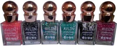 Avlon Glitter Nail Polish A.G.N.P-A6 12 ml