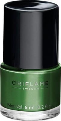 Oriflame Sweden Pure Colour Nail Polish Mini Serene Green 6 ml(Serene Green)