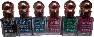Avlon Glitter Nail Polish A.G.N.P-K6 12 ml