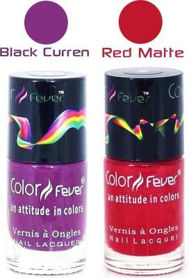 Color Fever Matte Nail Polish Combo 227 18 ml